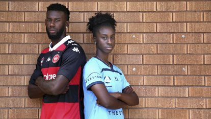 Sibling rivalry: The brother and sister straddling Sydney derby divide