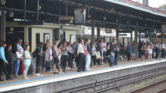 Sydney rail shake-up forces more commuters to switch trains at Central