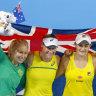 Barty stars as Australia clinch Fed Cup semi against Belarus