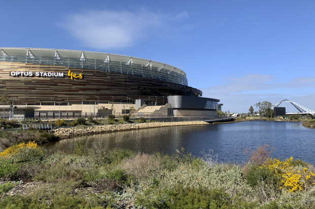 Optus Stadium is likely to be used as a regular AFL hub for the remainder of the 2020 season.