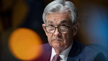 Fed chairman Jerome Powell.