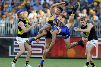 A $1.4 million betting payout hinged on West Coast beating Richmond during round  nine in 2018.