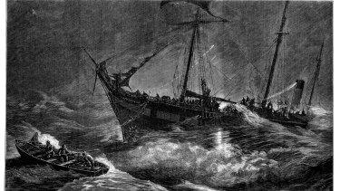 The steamship Gothenburg.