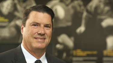 Selling a dream: Rugby Australia chairman Hamish McLennan.