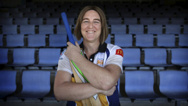Erica James says she feels welcome at her local cricket club and her confidence has been given a major boost.