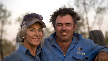 Outback ringers Liz and Willie Cook.