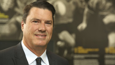 Man with a plan: Rugby Australia's new chairman Hamish McLennan.