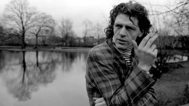 Marco Pierre White in London, 1986. The rock star chef is back in WA for Gourmet Escape in 2019.