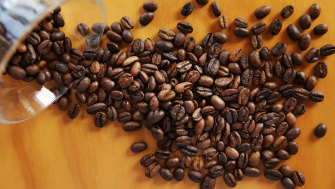 The cost of coffee beans has risen more than 40 per cent so far this year.