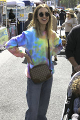 The Hills star Whitney Port seen recently in tie-dye.