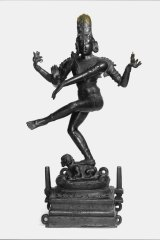 The Shiva Nataraja statue was returned to India by the National Gallery of Australia.