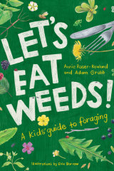 A new children's book on foraging for weeds