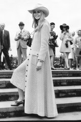 Maudie James in the outfit at the 1969 Cup.