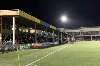 Queensland's home of football, Perry Park, has not had improvements to its spectator facilities in decades.