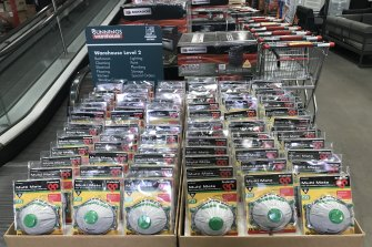 Wesfarmers, which owns Bunnings, was forced to fly in hundreds of thousands of respirators to keep up with demand.