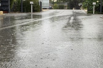 Perth is already experiencing heavy rain with the promise of more to come.
