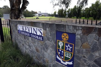 St Kevin's College in Toorak.