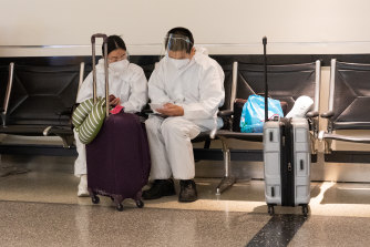 More than 1 million passengers flew through US airports just last Friday, as families prepare to reunite for Thanksgiving despite the virus risks.