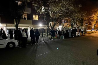 An Elwood property was sold at auction on Thursday night ahead of the snap lockdown.