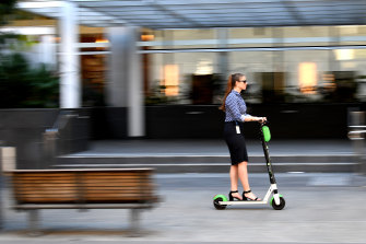 After a COVID dip, scooter rides in Brisbane are back to pre-pandemic levels.