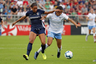 Sam Kerr's Red Stars failed to fire against North Carolina.