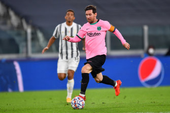 Lionel Messi iced Barcelona's win over Juventus from the spot.