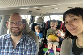 Isaac Greener and his family are in lockdown on Magnetic Island