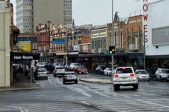 January 2021: Little has changed at the Russell Street and Victoria Street intersection in Toowoomba since the floods of January 2011.