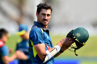 Mitchell Starc is part of a NSW squad that is flying to Adelaide early due to the spike in COVID-19 cases in the state.