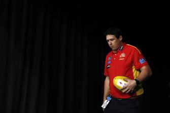 Gold Coast coach Stuart Dew.