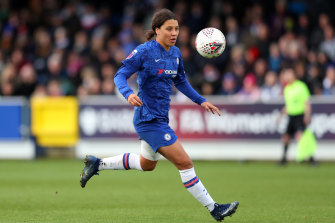 Sam Kerr's Chelsea could be awarded the WSL title on a points-per-game system.