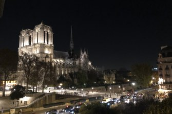Notre Dame Cathedral before the fire.