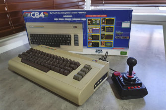 The joystick included with THEC64 is much improved over the one offered with the Mini.