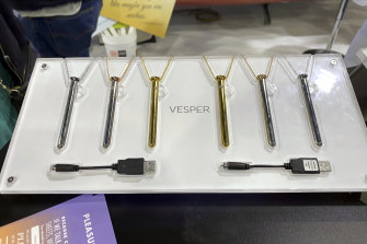 The Vesper, a vibrator you can also wear as a necklace, is Crave's best-selling product.