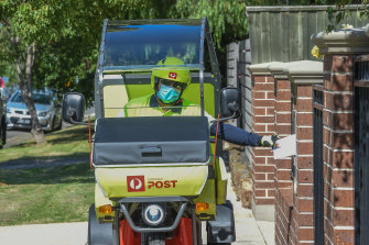 Australia Post is taking on more staff to deal with the surge in home deliveries.