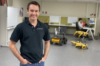 Daniel Milford's Chironix has partnered with some of the world's most advanced robotics companies.