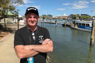 MUA Queensland state secretary Stephen Cumberlidge has written to union staff about a listening device.
