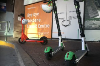 """E-scooter contracts with Brisbane City Council are """"low"""" in revenue, opposition councillors claim."""