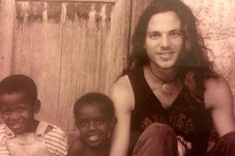 Brett Sutton in Zanzibar in 1991.