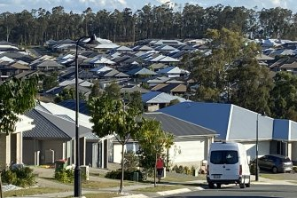 Thousands of new homes are emerging in the Ripley Valley, boosting its population by 4200 in the past 12 months.