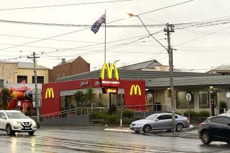McDonald's on Racecourse Road, Flemington, is among latest COVID-19 exposure sites.