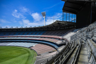 The MCG will return to life on Boxing Day.