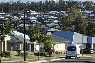 Thousands of new homes are emerging in the Ripley Valley boosting the population by 4200 in the past 12 months.