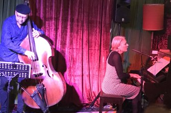 Felicity Wilcox and Lloyd Swanton perform at the Avalon.