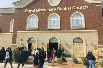 The Royal Missionary Baptist Church in North Charleston.