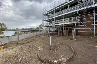 Rubbish and overgrown gardens have been cleared to allow the restoration of Home to begin.