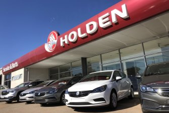 Holden sales have fallen since the closure of their local factories.