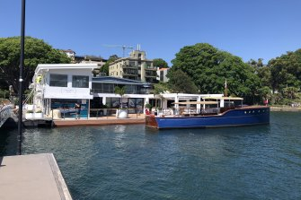 Refurbishment works were under way at the new Boathouse site in Rose Bay this week.