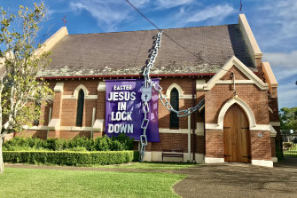 Nowra promotes the idea of Jesus being in lockdown for three days before he broke the chains of death.