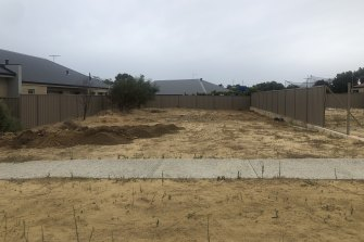 The Beeliar block the Tomic family were planning to build on.